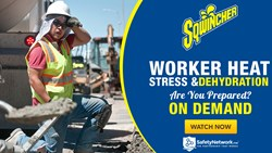 Webinar: Worker Heat Stress & Dehydration - Are You Prepared?