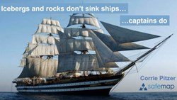 Icebergs and Rocks Do Not Sink Ships, Captains Do