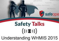 Webinar:  Understanding WHMIS 2015