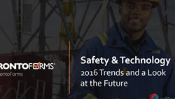 Webinar:  Safety & Technology - 2016 Trends and a Look at the Future