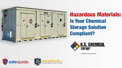 Webinar:  Hazardous Materials: Is Your Chemical Storage Solution Compliant?