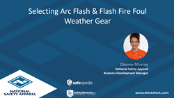 Webinar:  Selecting Arc Rated / Flame Resistant Foul Weather Gear