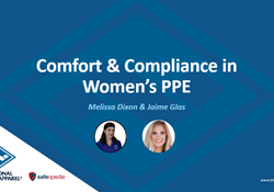 Webinar: Comfort and Compliance in Women's PPE