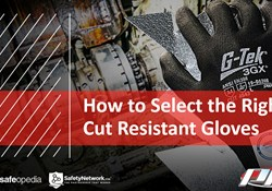 Webinar:  How To Select The Right Cut Resistant Gloves