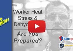 Webinar: Worker Heat Stress & Dehydration