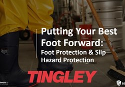 Webinar: Putting Your Best Foot Forward: Foot Protection & Slip Hazard Prevention.
