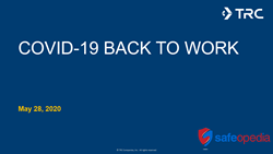 Webinar: COVID-19 and Back to Work: A Baseline: Live Q&A with Brian Godfrey