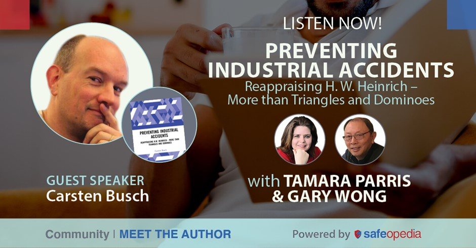 Meet the Author with Carsten Busch: Preventing Industrial Accidents