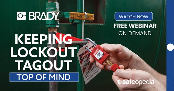 Image for Keeping Lockout Tagout Top of Mind