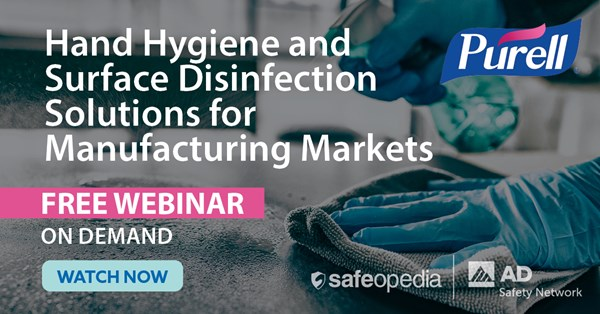 Image for Hand Hygiene and Surface Disinfection Solutions for Manufacturing Markets