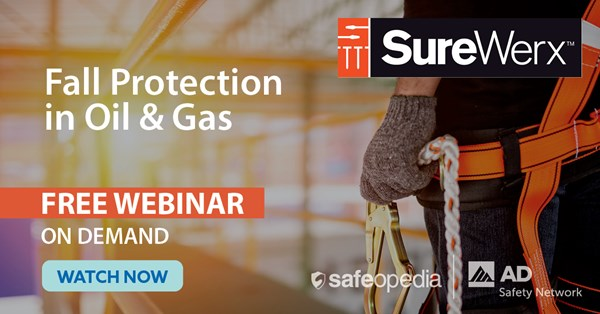 Image for Fall Protection in Oil & Gas