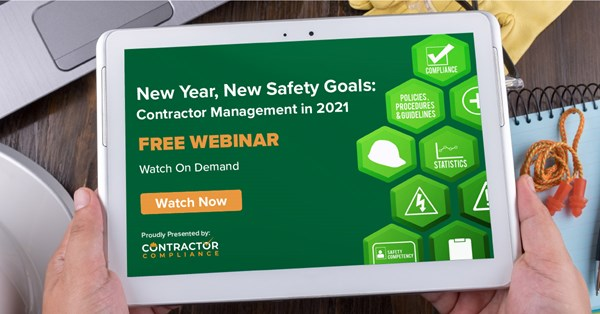 Image for New Year, New Safety Goals: Contractor Management for 2021