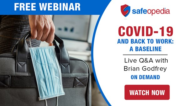 Image for COVID-19 and Back to Work: A Baseline - Live Q&A with Brian Godfrey