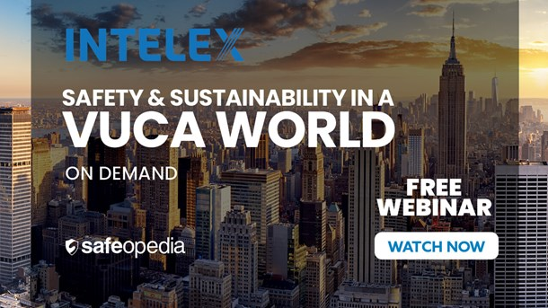 Safety & Sustainability in a VUCA World
