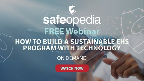 Image for How to Build a Sustainable EHS Program with Technology