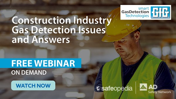Image for Construction Industry Gas Detection Issues and Answers