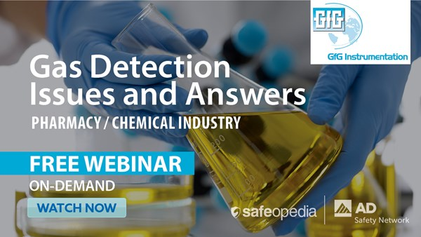 Image for Gas Detection Issues and Answers: Pharmacy & Chemical Industry