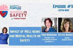 Women in Safety #10 - Impact of Well-being and Mental Health on Safety
