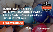 Hard Hats, Safety Helmets, and Bump Caps: A Quick Guide to Choosing the Right Protection for the Job