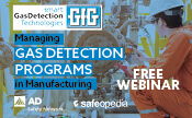 Managing Gas Detection Programs in Manufacturing