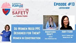Women in Safety #13 - Do women need PPE designed for them?