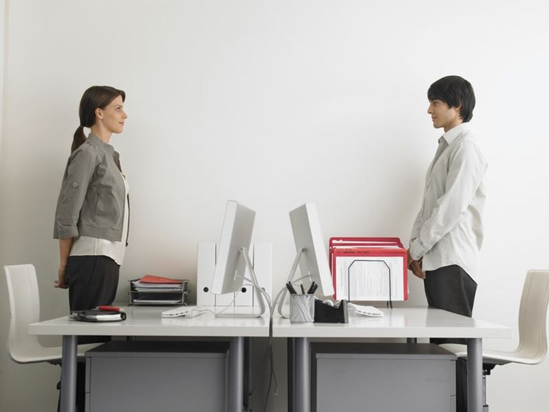 Considerations When Introducing Sit Stand Work Stations