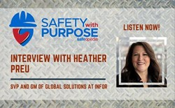 Safety With Purpose #15 - Mrs. Heather Preu Discusses Customer Infor EAM Use and Improved Asset Safety