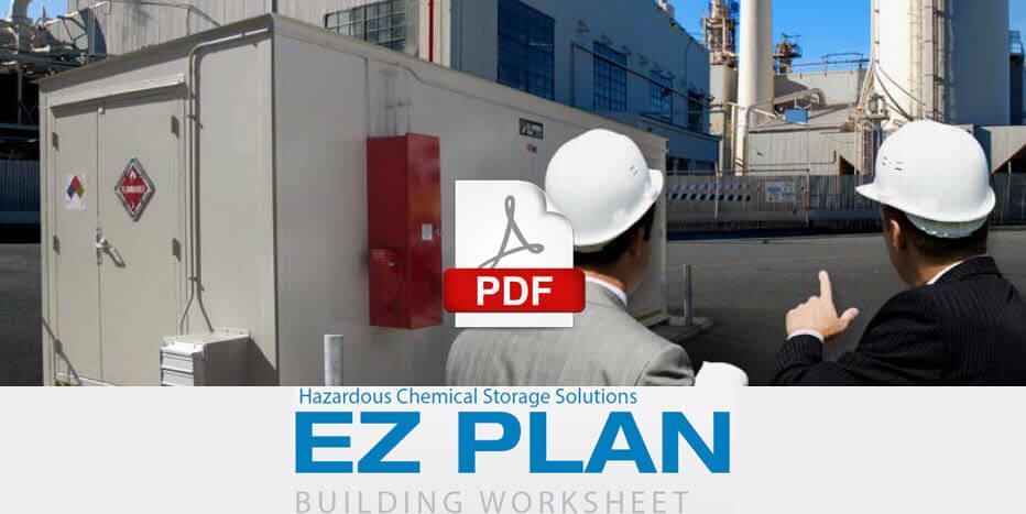 EZ Plan hazardous chemical storage solutions