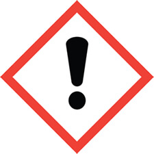 Exclamation mark safety symbol