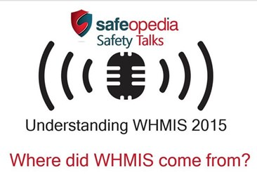 Video Q&A - Where did WHMIS Come From?