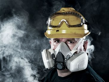 What kind of respirator cartridge should I use?
