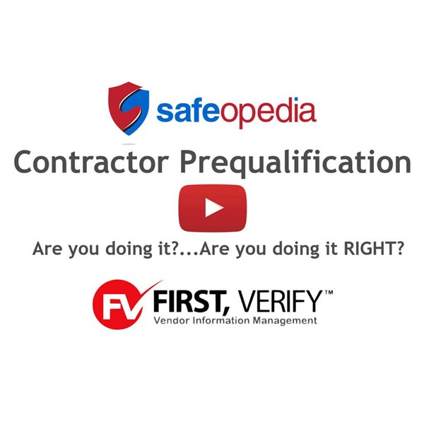 Image for Webinar:  Contractor Prequalification:  Are you doing it?... Are you doing it RIGHT?