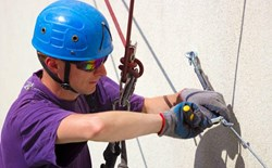 What is the life expectancy of fall protection equipment?