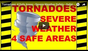 Image for Tornadoes - 4 Safe Areas