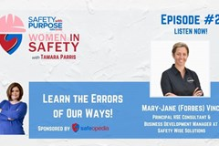 Women in Safety #2 - Learn the Error of Our Ways