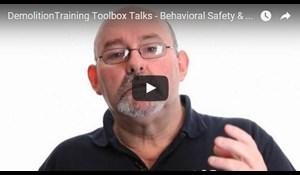 Image for Demolition Training Toolbox Talks - Behavioral Safety & Teamwork