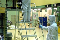 What clothing should I wear inside a cleanroom?