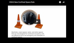 Image for OSHA New Confined Space Rule