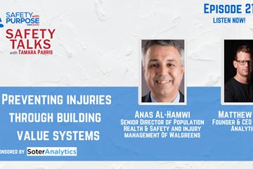 Safety Talks #21: Preventing Injuries Through Building  Value Systems