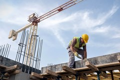 Fall, electrouction, struck by, and caught-in or caught between hazards account for most construction fatalities