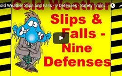 Cold Weather Slips and Falls - 9 Defenses