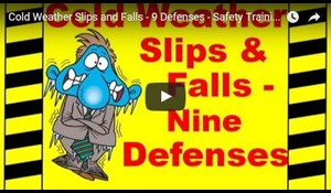 Image for Cold Weather Slips and Falls - 9 Defenses