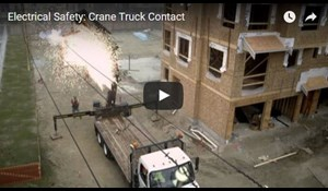 Image for Electrical Safety: Crane Truck Contact