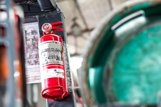 How often do fire extinguishers need to be inspected?