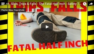 Image for Slips, Trips & Falls - The Fatal Half Inch