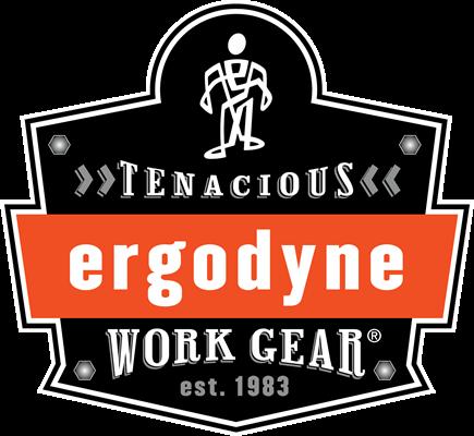 Ergodyne tenacious work gear est. 1983 logo