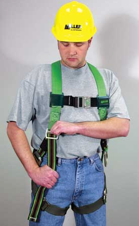 Full body safety harness adjust straps