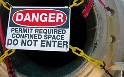 What is the best kind of gas detector to use in confined spaces?