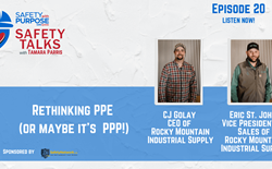 Safety Talks #20: Rethinking PPE (or maybe it's  PPP!)
