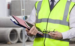 What is the difference between Type R, Type O, and Type P high-visibility safety vests?